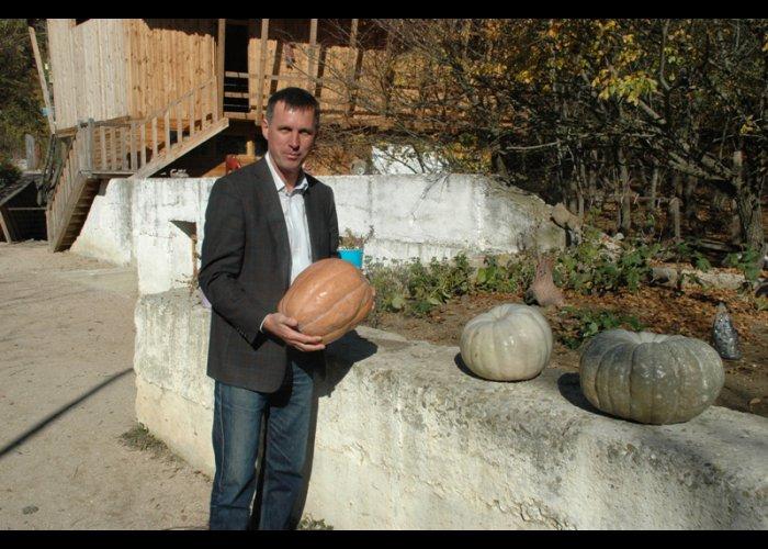 В Ялте проходит фестиваль тыквы