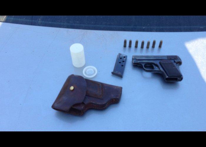 В Крыму задержали торговца оружием