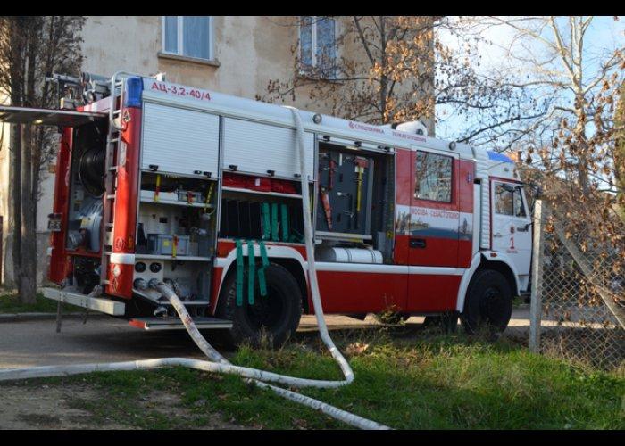 На пожаре в Севастополе погиб пенсионер