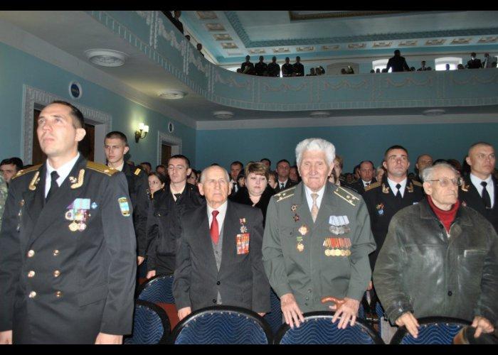 В Симферополе отметили 22-ю годовщину Вооруженных сил Украины