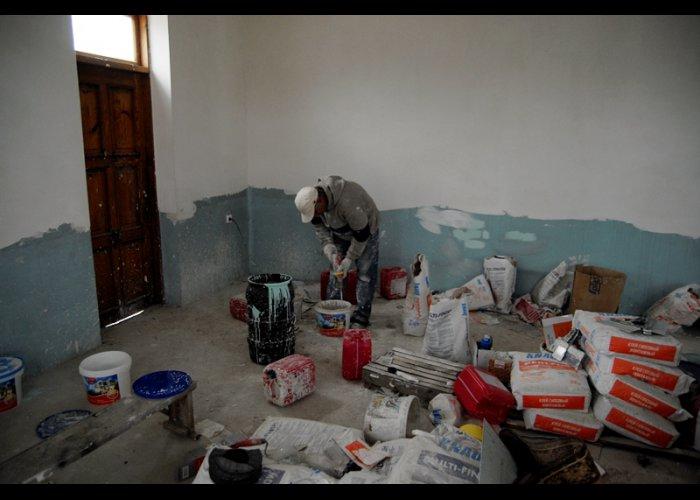 В Сакской мечети идут восстановительные работы
