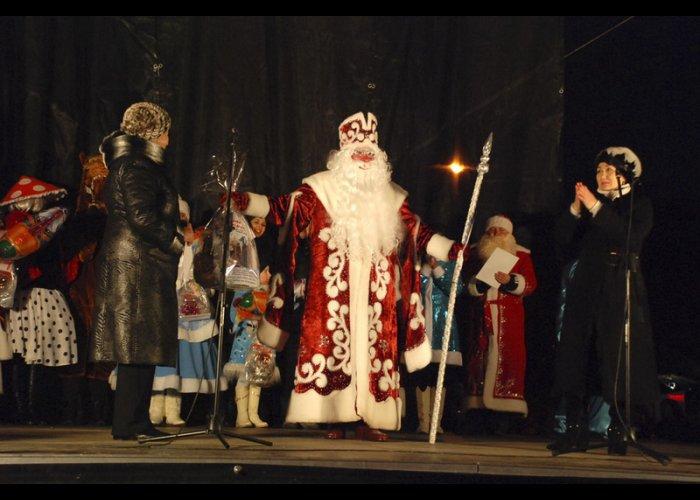 В Евпатории выбрали лучшего Деда Мороза