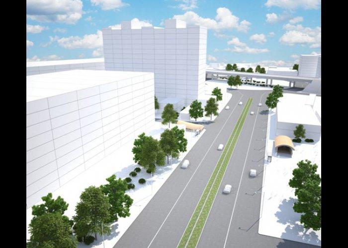 Реконструкцию проспекта в Симферополе завершат в следующем году