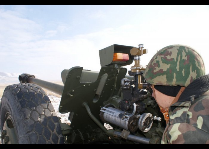 В Крыму проходят плановые учения танкистов и артиллеристов