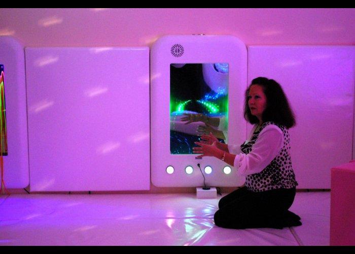 В больнице Евпатории открылась сенсорная комната