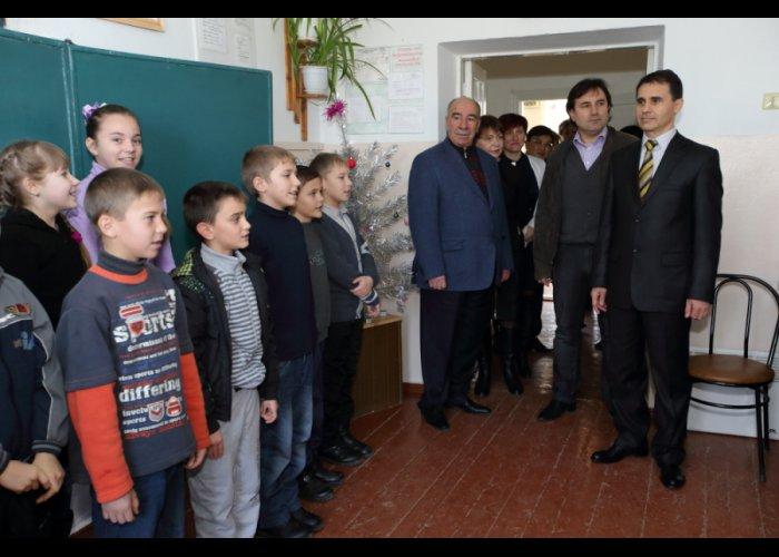 В Симферопольском районе отремонтировали школу