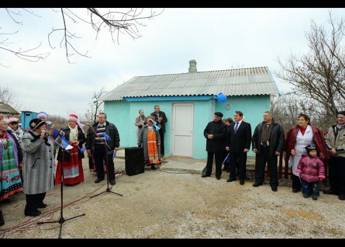 В Нижнегорском районе открыли фельдшерский пункт