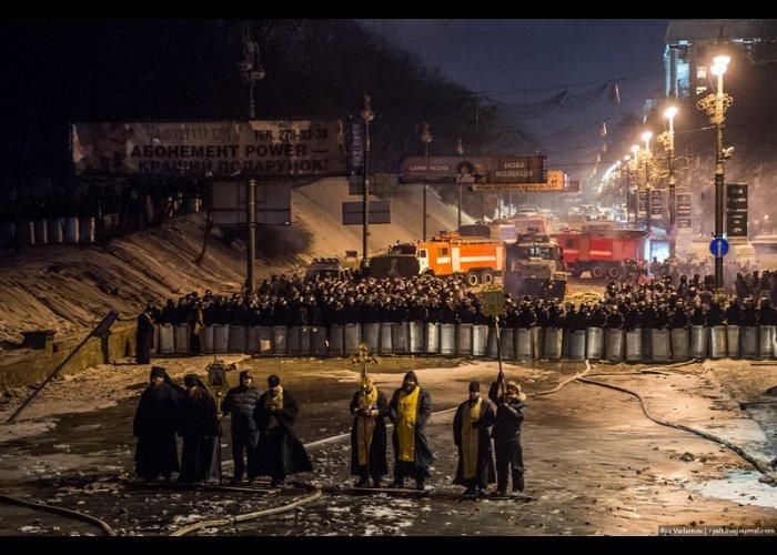 Ночь в Киеве в фотографиях