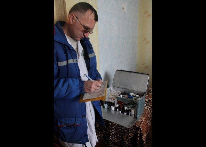 За год врачи Белогорской подстанции экстренной медпомощи 10 тыс. раз выезжали к пациентам