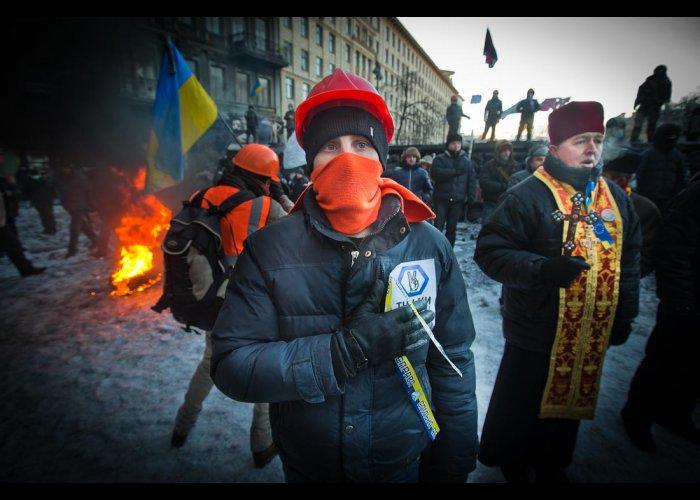 Новые баррикады в Киеве