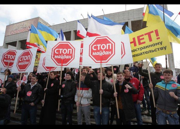 Крымский «Стоп майдан» напомнил, что до освобождения Киева осталось 9 дней