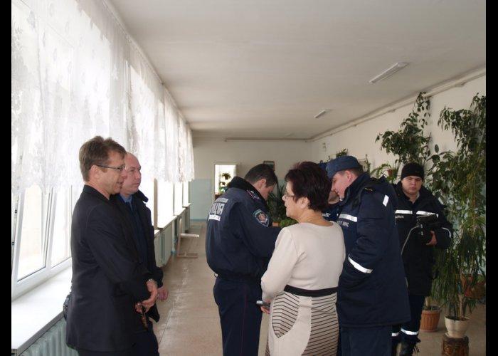 В Симферополе школьников эвакуировали из-за подозрительного запаха