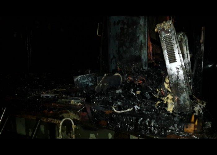 В воинской части в Севастополе произошел пожар