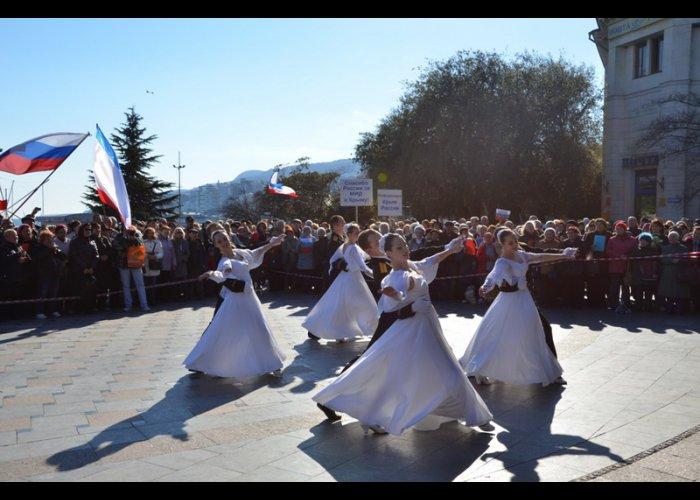 В Ялте прошел концерт в поддержку референдума