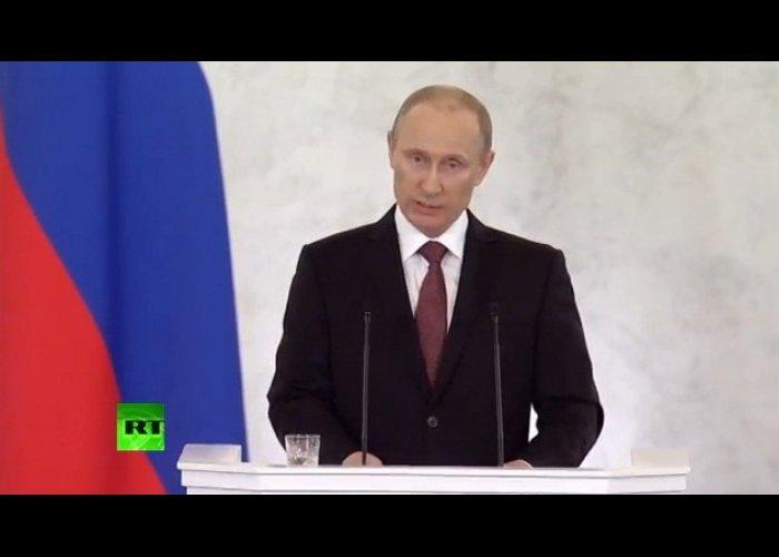 В Москве подписали договор о вхождении Крыма и Севастополя в состав России