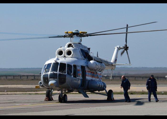 На дежурство в Крыму заступил вертолет Ми-8