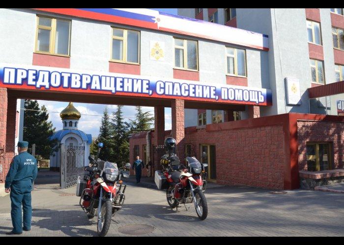 МЧС Крыма получило современные мотоциклы