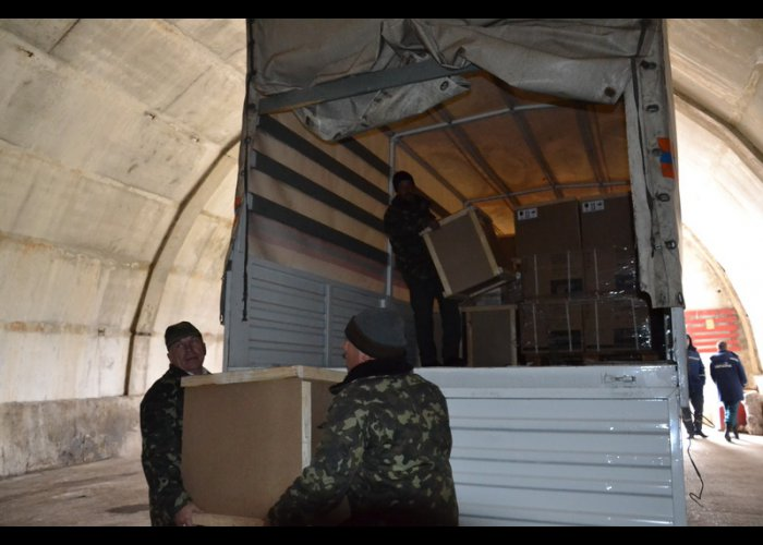 Крымские спасатели получили аварийные осветительные установки