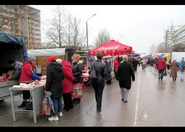 На ярмарке в Евпатории продали более 30 тонн продукции