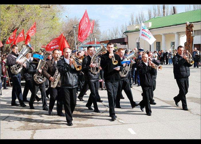 В Феодосии отметили 70-летие освобождения от фашистов