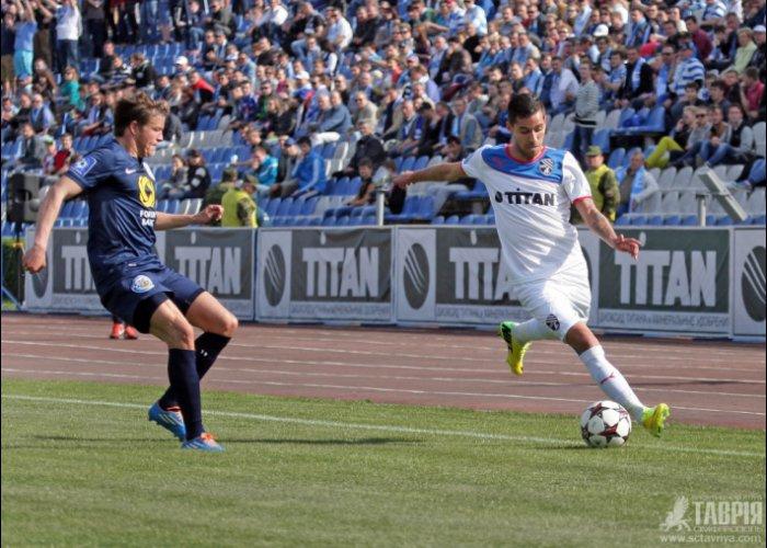 В футбольном дерби севастопольцы оказались сильнее «Таврии»
