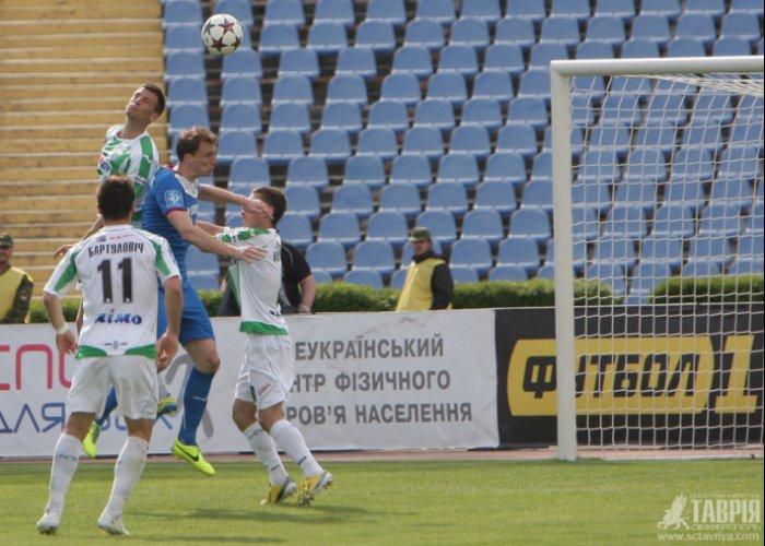 «Таврия» снова уступила в домашнем матче