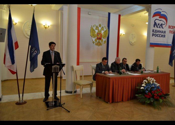 Вице-премьер возглавил отделение «Единой России» в Ялте