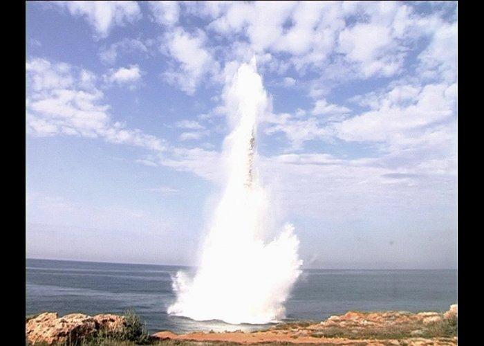 У берегов Севастополя взорвали фугасную бомбу