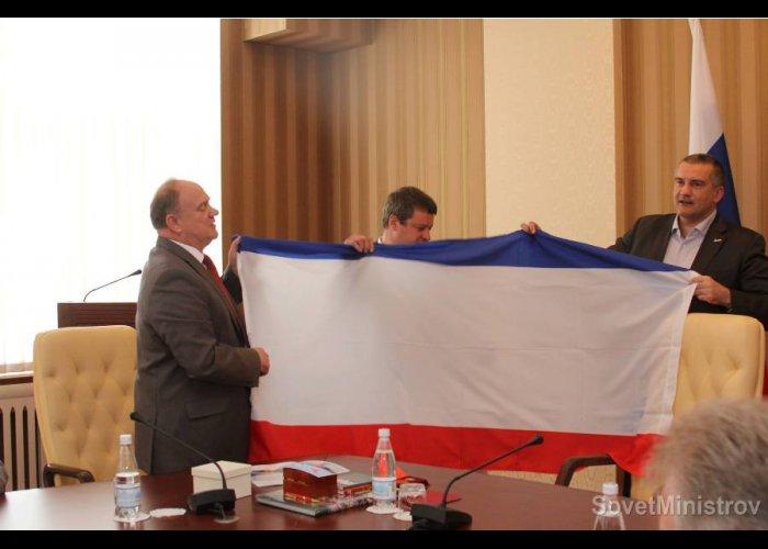 Глава Совмина встретился с делегацией КПРФ