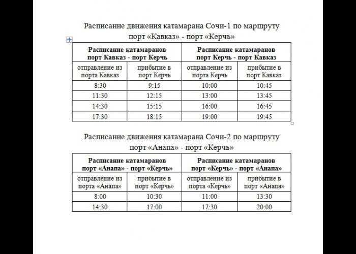 Скоростные катамараны осуществляют 12 рейсов в день из России в Крым и обратно