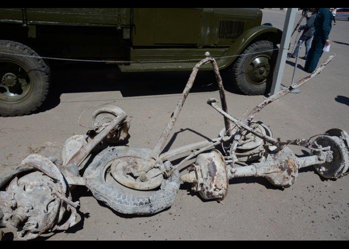 Музей Севастополя получил предметы, найденные спасателями МЧС