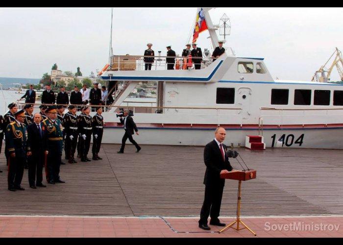 Президент РФ принял участие в праздновании Дня Победы в Севастополе