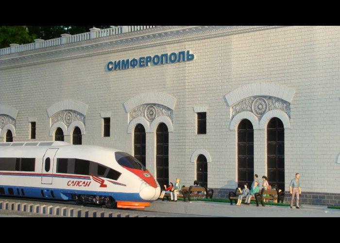 В парке миниатюр Бахчисарая появились новые экспонаты