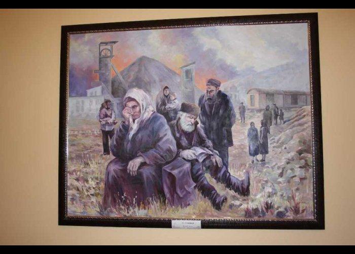 В Бахчисарае открылась выставка «Слезы памяти»