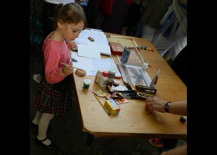 В Феодосии провели мастер-класс по изготовлению папируса