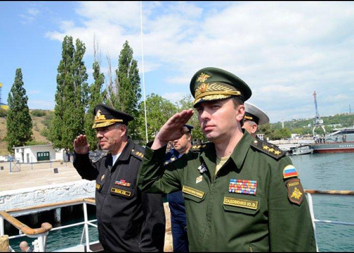 Замминистра обороны РФ проинспектировал объекты Черноморского флота