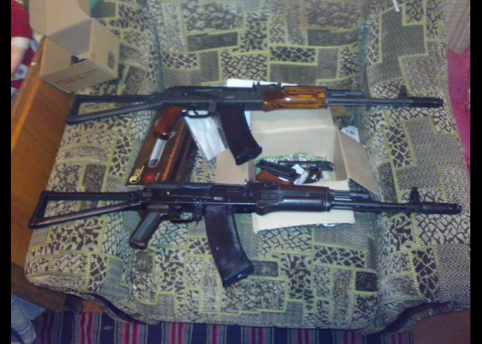 Житель Евпатории хранил дома арсенал оружия