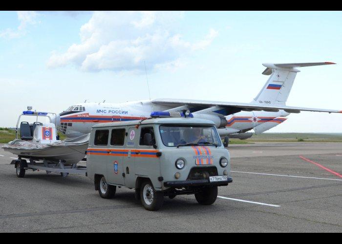 МЧС Крыма усилили бойцами «Центроспаса»