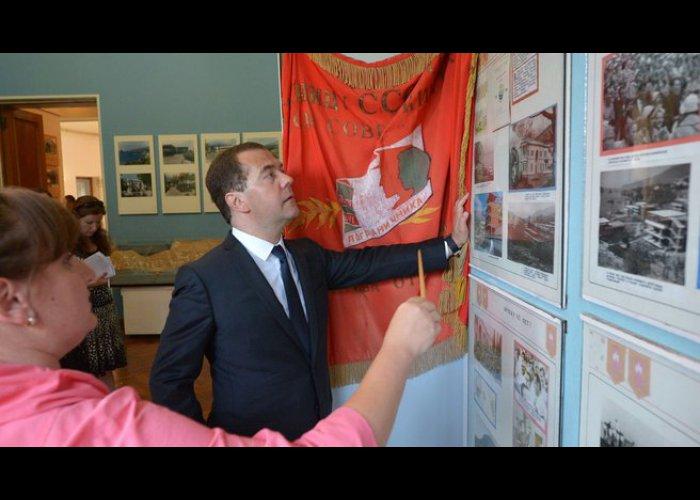 Премьер-министр России посетил «Артек»