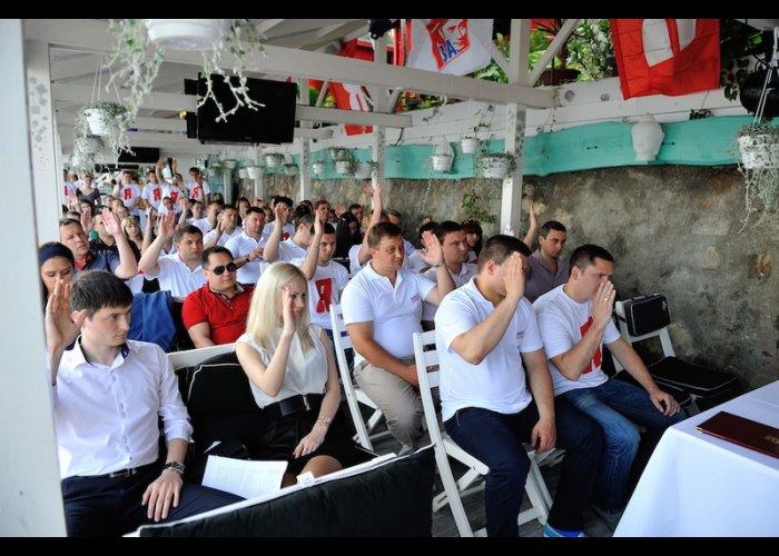 В Крыму создано отделение «Молодой гвардии»