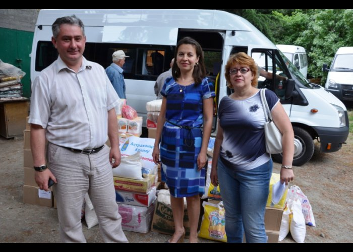 Ялта получила от Астраханской области три «Газели»