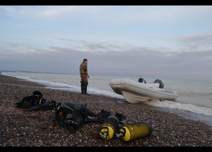 У берегов Крыма уничтожили две якорные мины