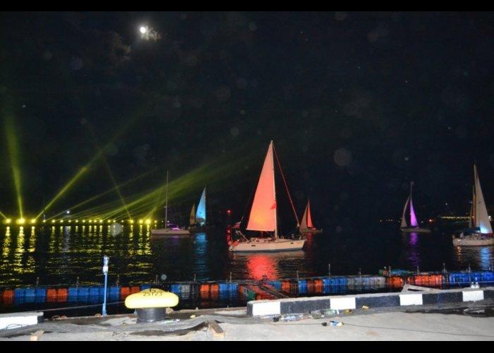 В Ялте в полночь масштабным концертом встретили День России