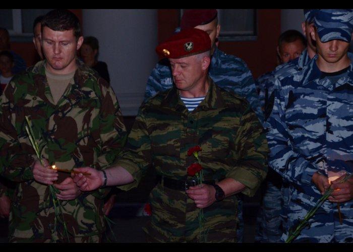 В Симферополе прошла акция «Завтра была война»