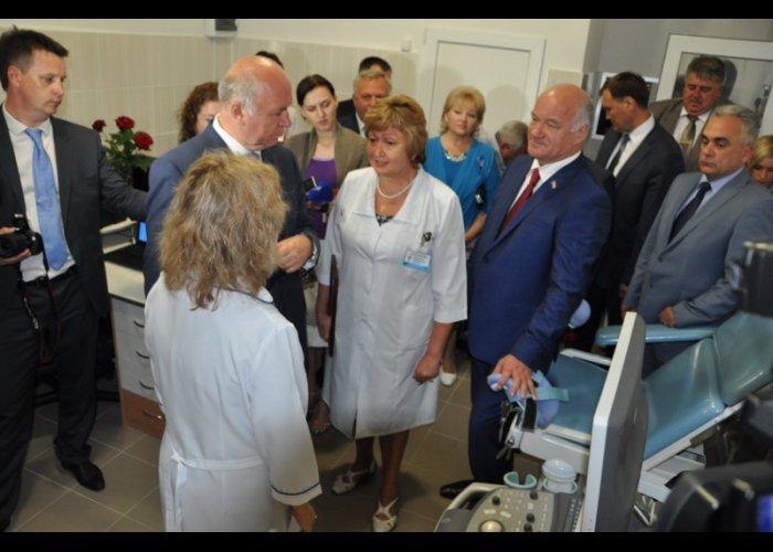 В Саках открыли кабинет ультразвуковой диагностики