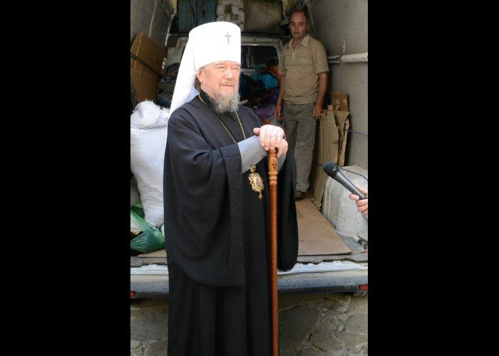 Крымская епархия передала гуманитарную помощь детям-беженцам с Украины