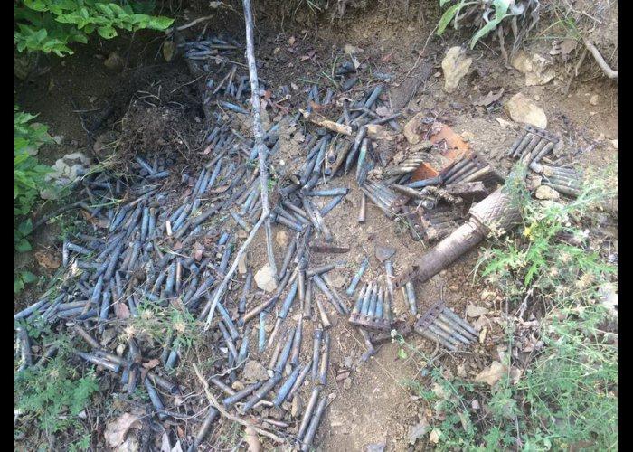 Под Алуштой обнаружили боеприпасы времен войны