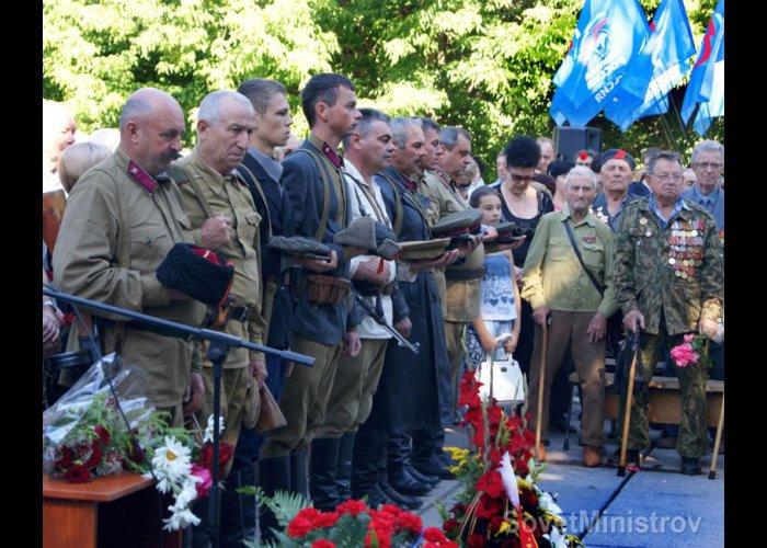 В Крыму отметили День партизан и подпольщиков