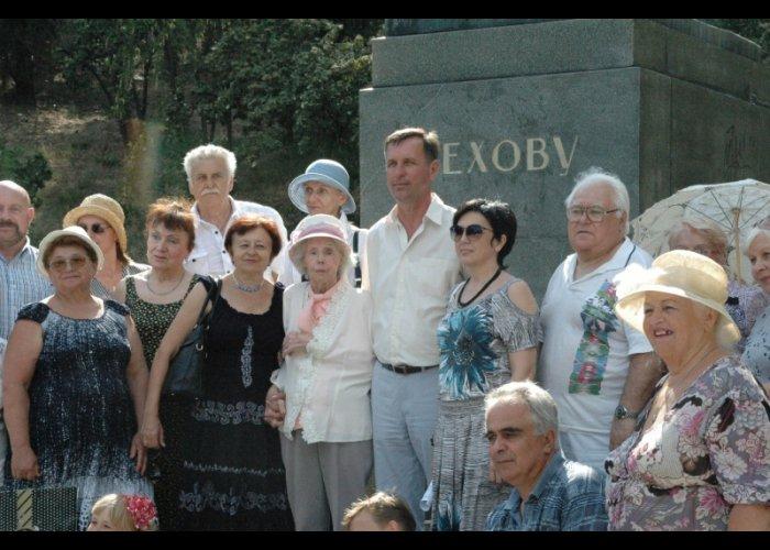 В Ялте отметили День памяти Чехова