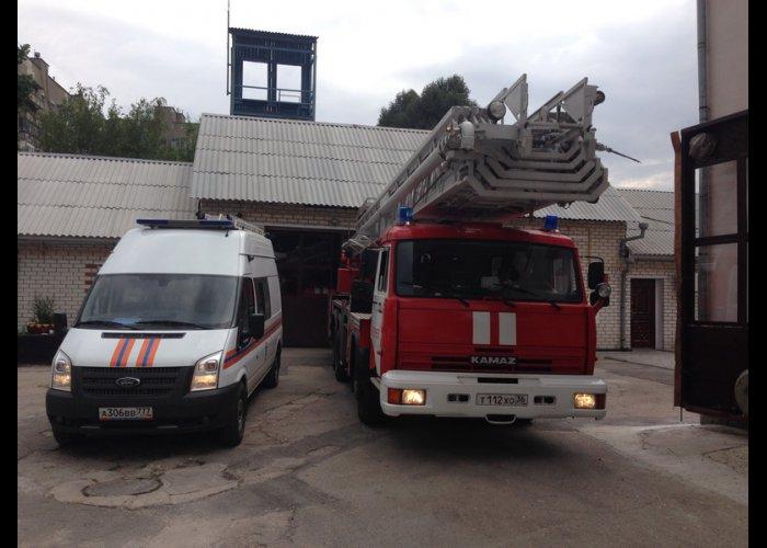 Джанкойский район получил российскую пожарную технику